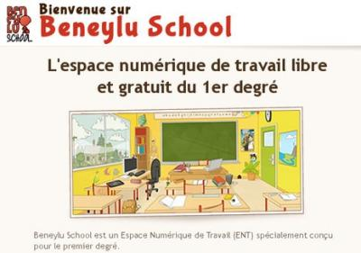 Beneyluschool net bienvenue specialement